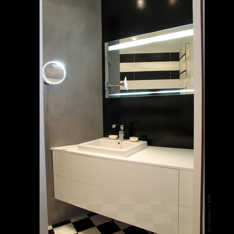 cr ation de salle de bain sur mesure en is re. Black Bedroom Furniture Sets. Home Design Ideas